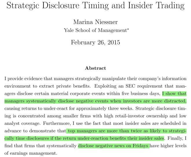 paper insider trading